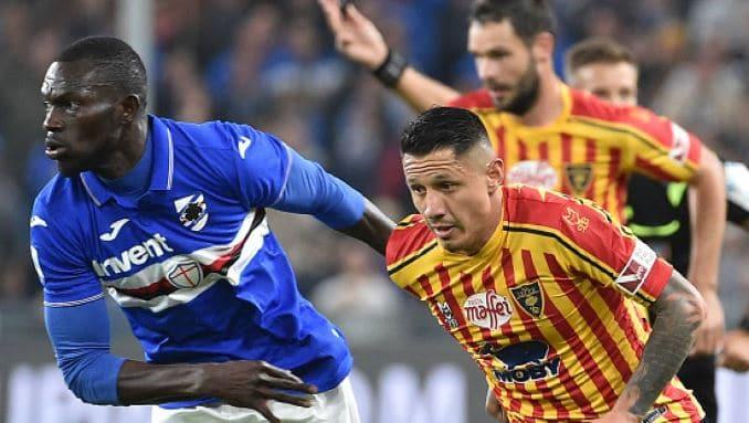 Lecce – Sampdoria: le scelte in campo e come vederla in TV o Streaming