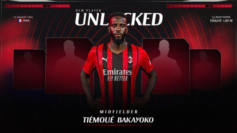 Milan: Bakayoko di ritorno ai rossoneri per rinforzare il centrocampo