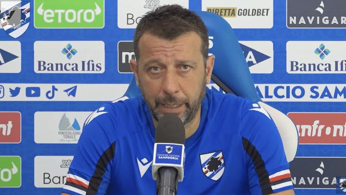 Sampdoria, D'Aversa a rischio esonero: tutti i nomi per la sostituzione. I dettagli
